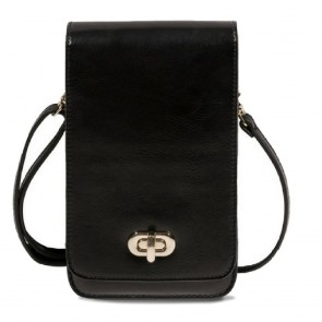 Save the Girls Classic Elegance Cell Phone Purse - Black