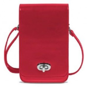 Save the Girls Classic Elegance Cell Phone Purse - Red