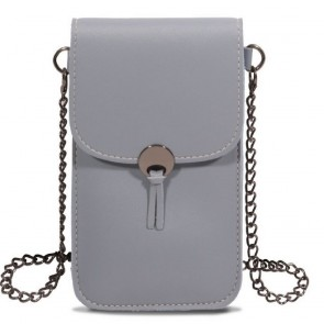 Save the Girls Colorado Style Cell Phone Purse - Serious Grey