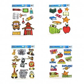 School Fun Removable Clings