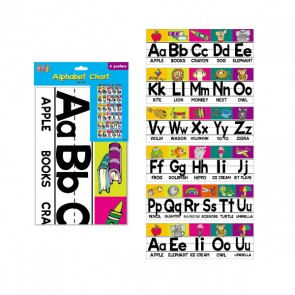 Teacher Building Blocks Alphabet Chart