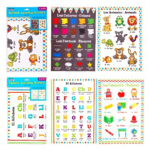 Spanish Learning Posters - Assorted