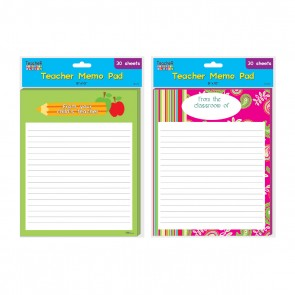 Teacher Memo Pad