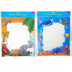 Teacher Building Blocks Cardboard Classroom Photo Frames - Dinosaur, Ocean