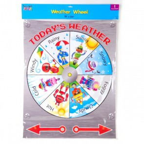 Teacher Building Blocks Robot Weather Wheel