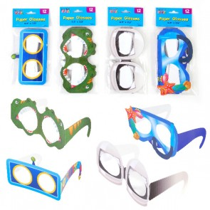 Teacher Building Blocks Classroom Paper Glasses