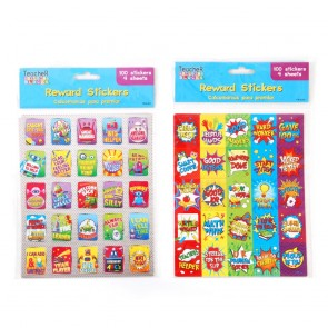 Teacher Building Blocks Reward Stickers - Superhero, Robot