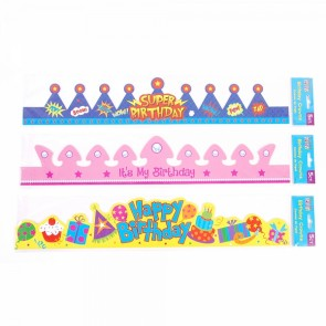 Teacher Building Blocks Birthday Crowns - Boy, Girl, Unisex