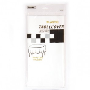 White Table Cover - Rectangular