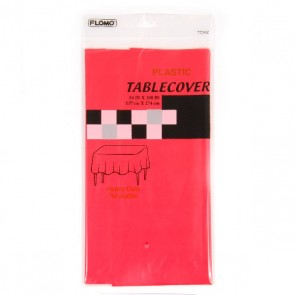 Red Table Cover - Rectangular