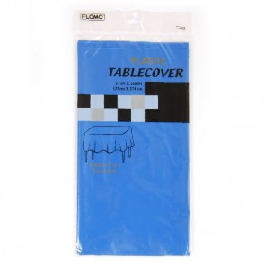 Blue Rectangular Table Cover