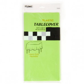 Lime Green Rectangular Table Cover