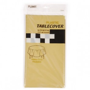 Gold Table Cover - Round