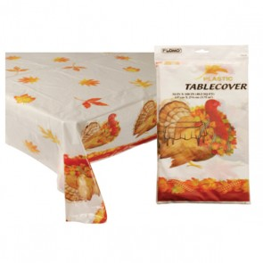 Thanksgiving Turkey Table Cover - Rectangular