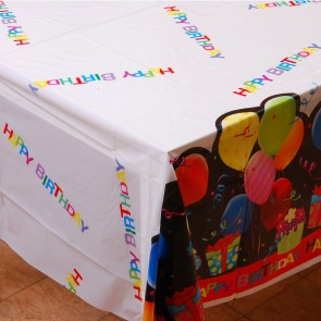 Balloon Rectangular Table Cover