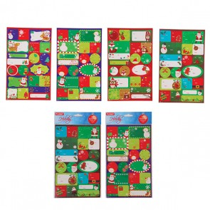 Christmas Gift Tag Stickers - 120 ct