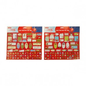 Christmas Gift Tag Stickers - 70 ct