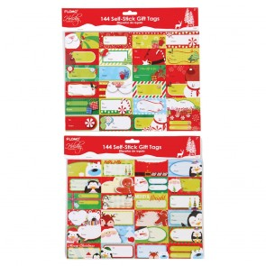 FLOMO Christmas Whimsical Holiday Gift Tag Stickers