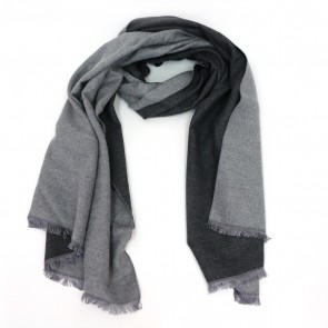 Reversible Classic Newbury Solid Scarf - Grey by Tickled Pink