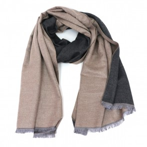 Reversible Classic Newbury Solid Scarf - Khaki by Tickled Pink