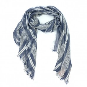 Hint of Sparkle Beach Women's Scarf - Blue by Tickled Pink