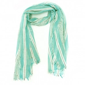 Hint of Sparkle Beach Women's Scarf - Seafoam Green by Tickled Pink