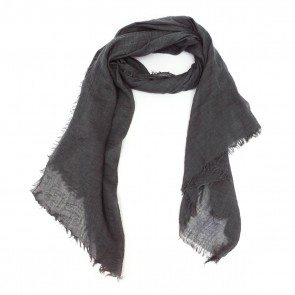 Classic Soft Solid Women's Scarf - Dark Gray by Tickled Pink