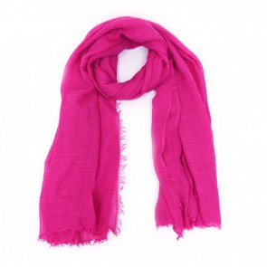 Classic Soft Solid Women's Scarf - Bright Pink by Tickled Pink