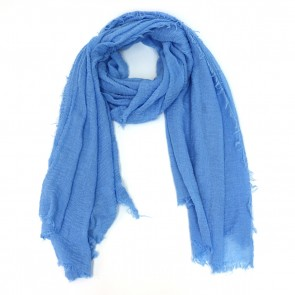 Classic Soft Solid Women's Scarf - Light Blue by Tickled Pink