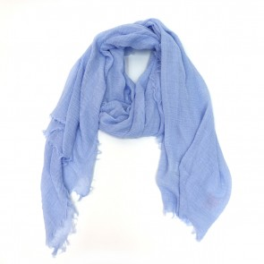 Classic Soft Solid Women's Scarf - Periwinkle by Tickled Pink
