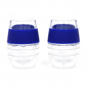 Stemless Wine FREEZE Gel Insulated Cooling Cups - Royal Blue by Host