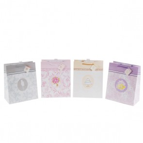 FLOMO Large The Big Day Wedding Gift Bags - Assorted