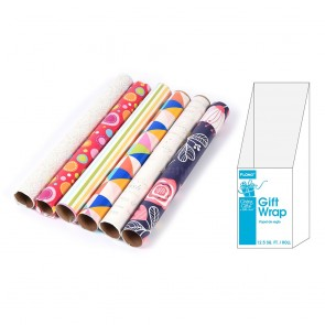FLOMO Contemporary All Occasion Wrapping Paper Rolls