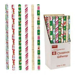 Christmas Celebration Wrapping Paper-Assorted