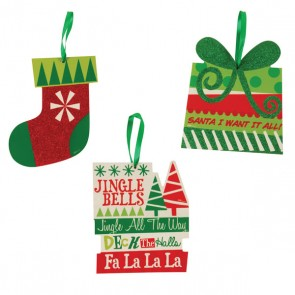 Christmas Hanging Plaques