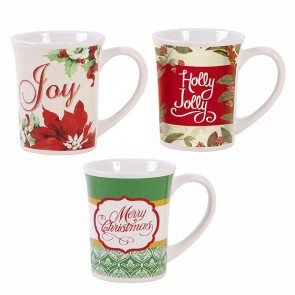FLOMO Christmas Taper Mug Set