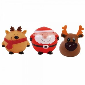 FLOMO Christmas Squeaky Pet Toy