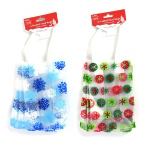 Christmas Frosted Treat Bags by Holiday Essentials