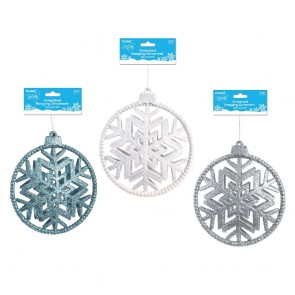 Oversized Christmas Snowflake Ornament by Holiday Essentials