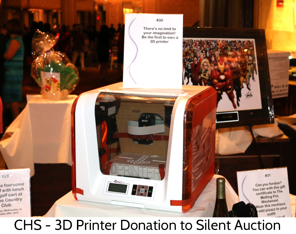 Glitzzie donated a 3D printer to the Center for Hope and Safety Sapphire Gala to help raise funds for those in need!